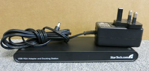 StarTech.com USBVGADOCK2 Universal Laptop USB Docking Station VGA Audio Ethernet